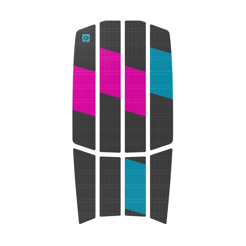 DUOTONE – TRACTION PAD TEAM – FRONT GREY PINK 2021