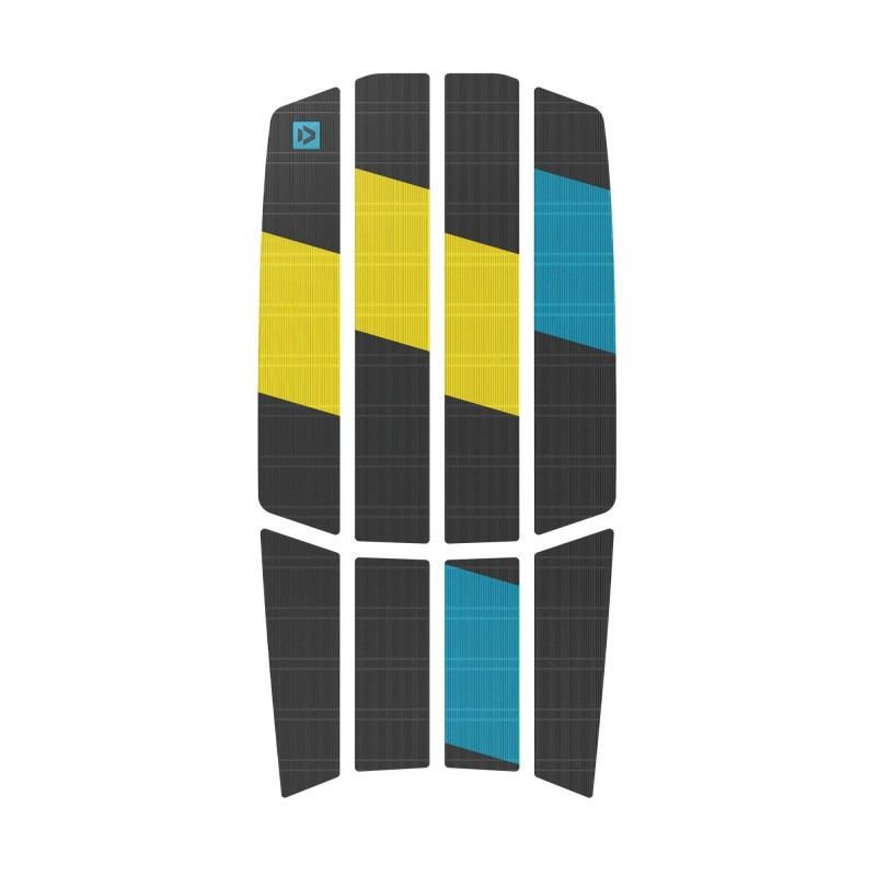 DUOTONE – TRACTION PAD TEAM – FRONT GREY YELLOW 2021